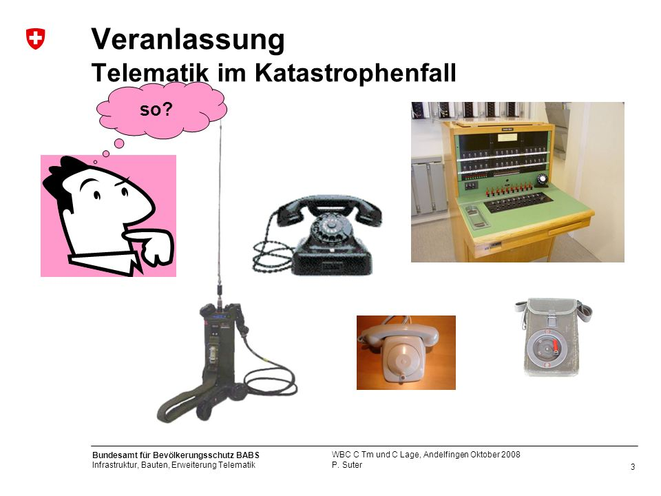 Veranlassung Telematik im Katastrophenfall