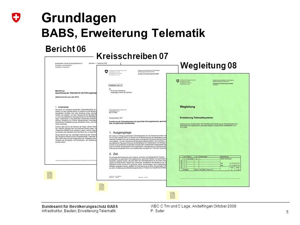 Grundlagen BABS, Erweiterung Telematik