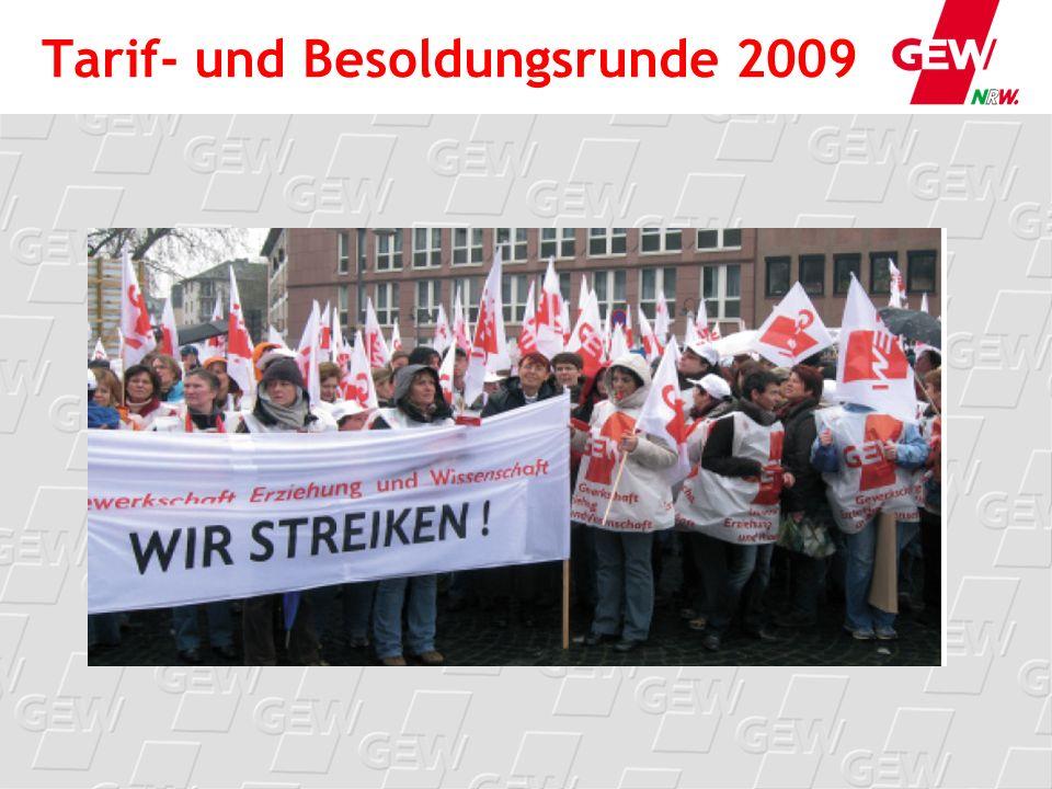Tarif- und Besoldungsrunde 2009