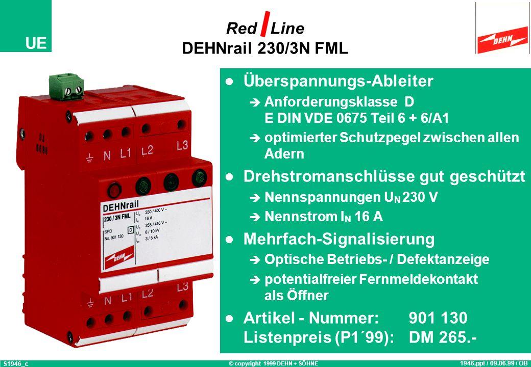 Red Line DEHNrail 230/3N FML