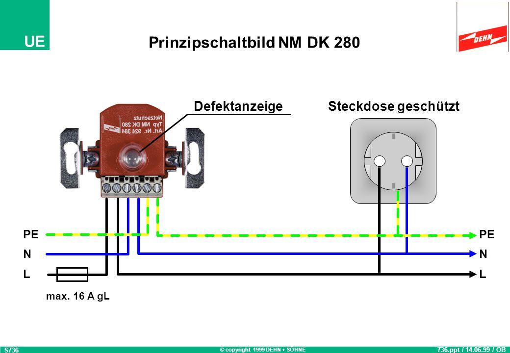 Prinzipschaltbild NM DK 280