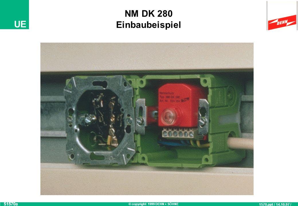 NM DK 280 Einbaubeispiel S1570a 1570.ppt / 14.10.97 / OB