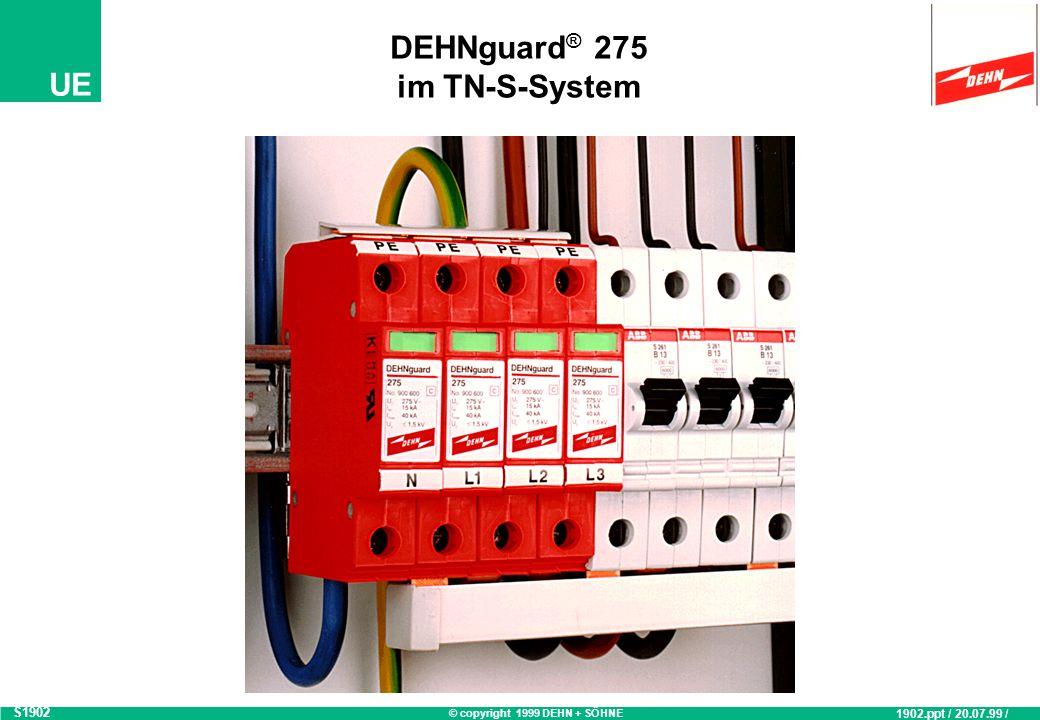 DEHNguard® 275 im TN-S-System