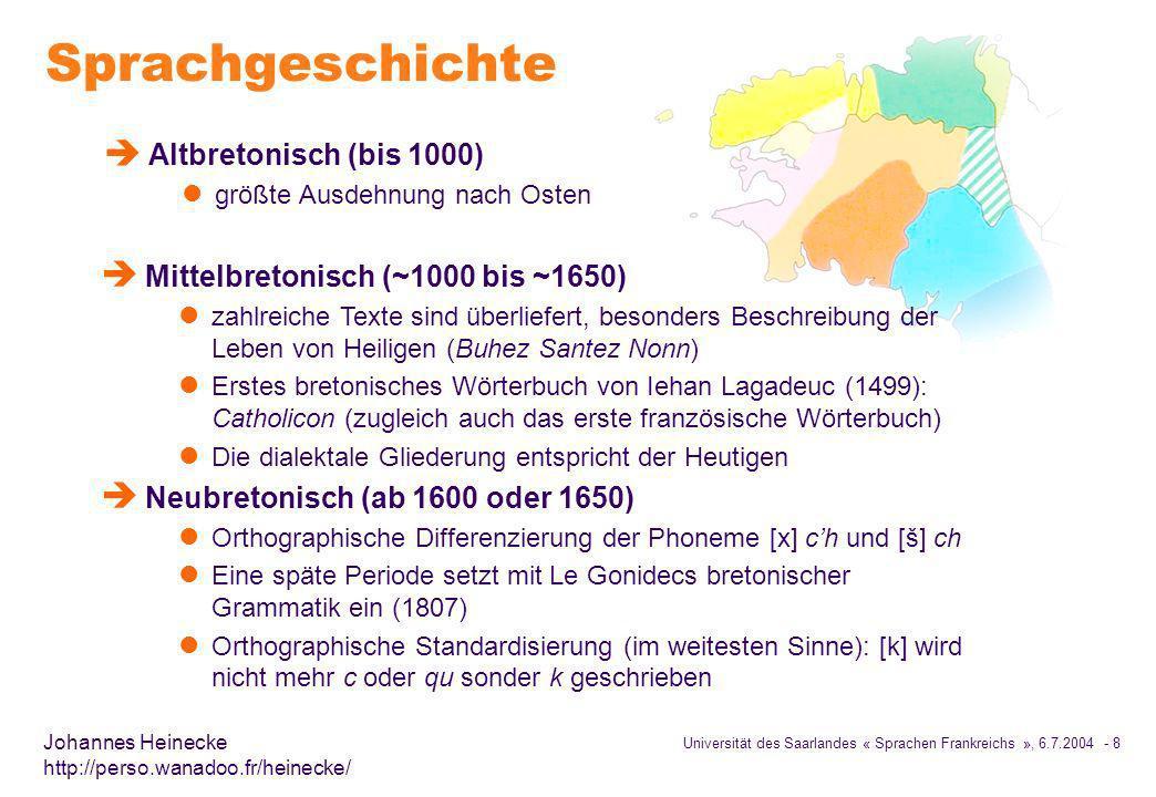 Sprachgeschichte Altbretonisch (bis 1000)
