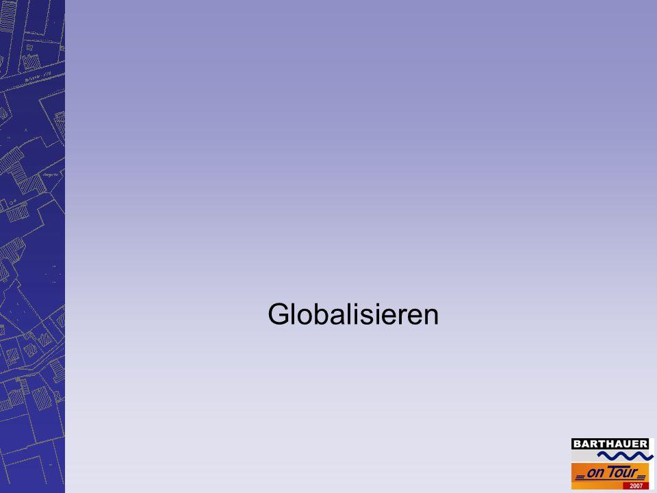 Globalisieren