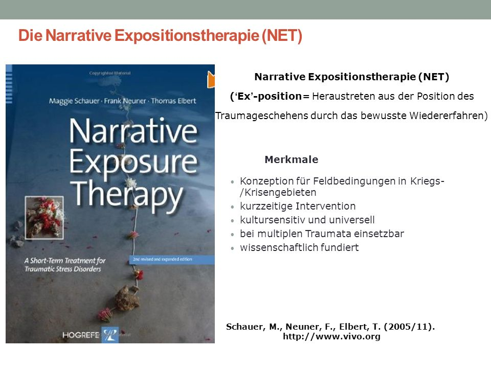 Die Narrative Expositionstherapie (NET)