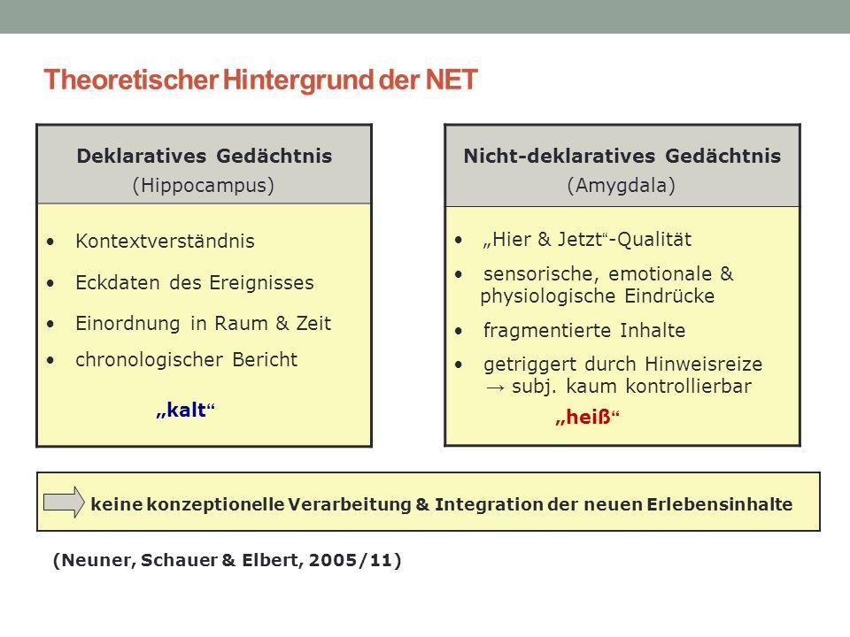 Theoretischer Hintergrund der NET