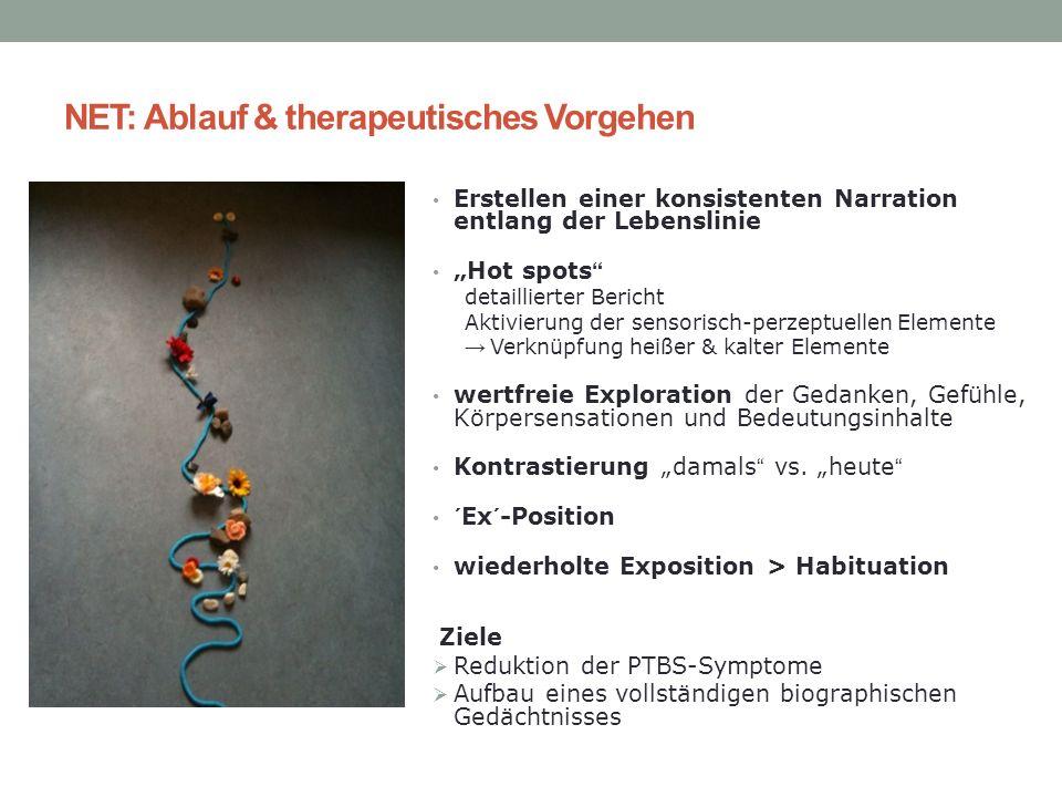 NET: Ablauf & therapeutisches Vorgehen