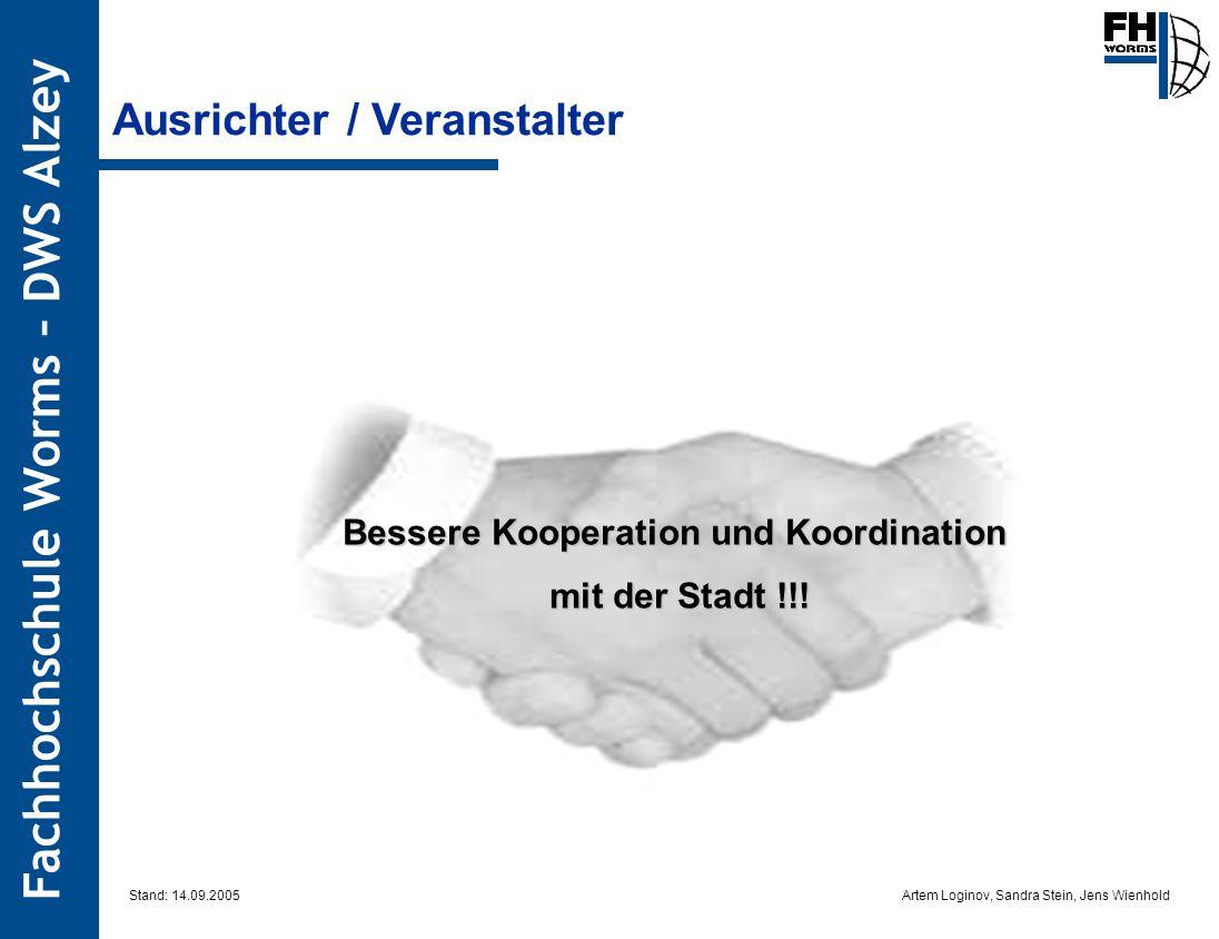 Bessere Kooperation und Koordination