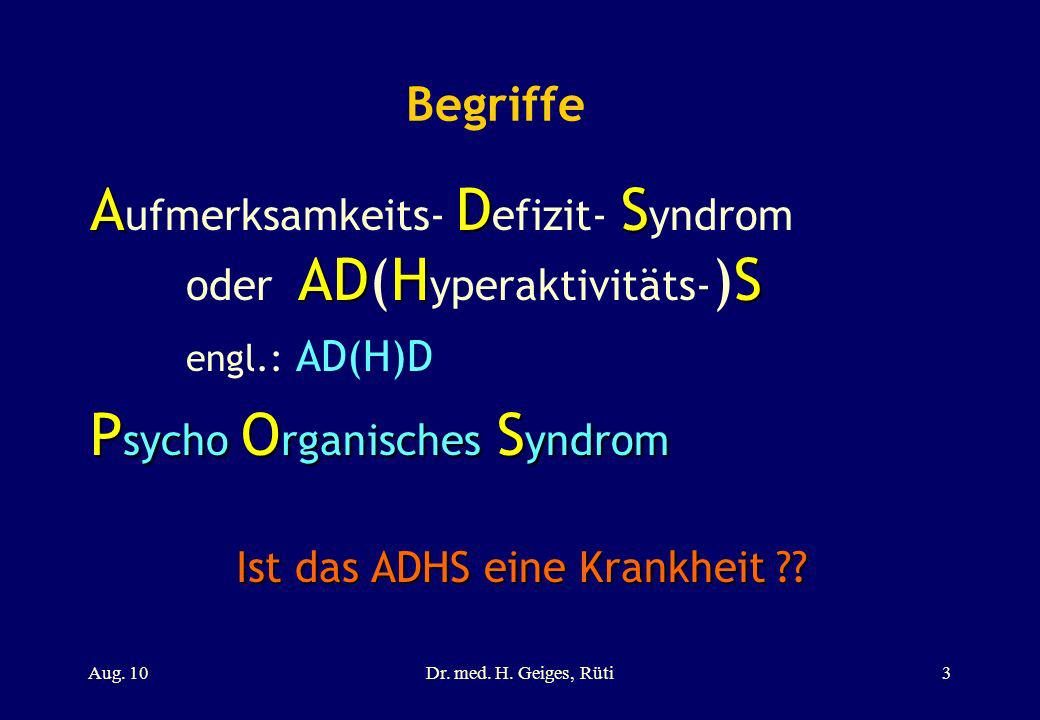 Ist das ADHS eine Krankheit