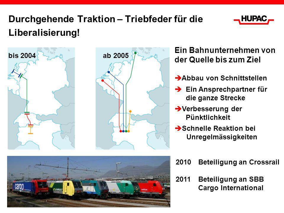 Durchgehende Traktion – Triebfeder für die Liberalisierung!