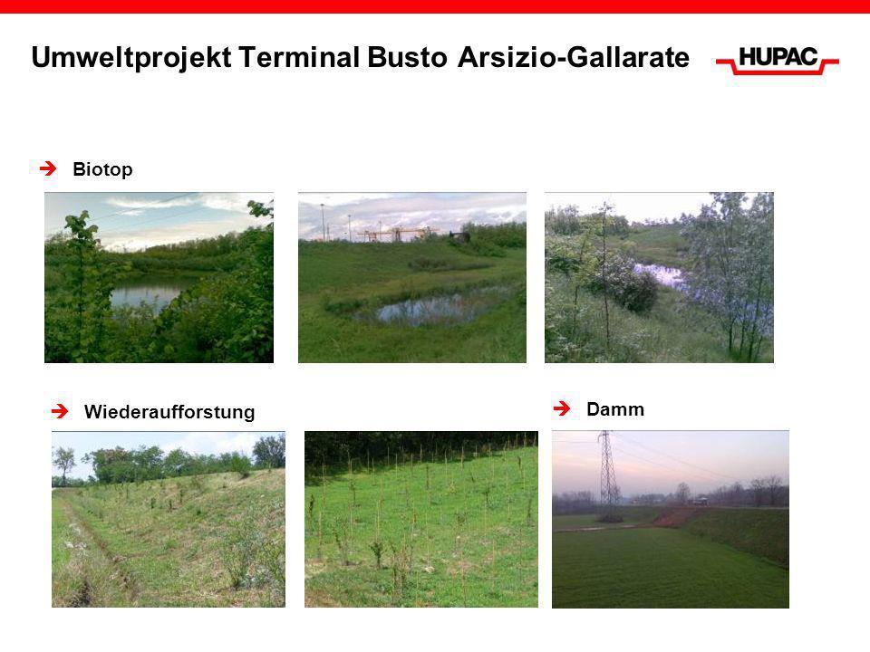 Umweltprojekt Terminal Busto Arsizio-Gallarate