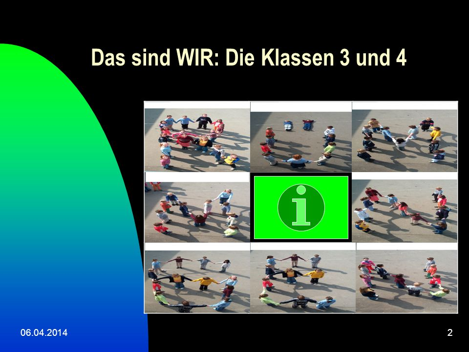 Das sind WIR: Die Klassen 3 und 4