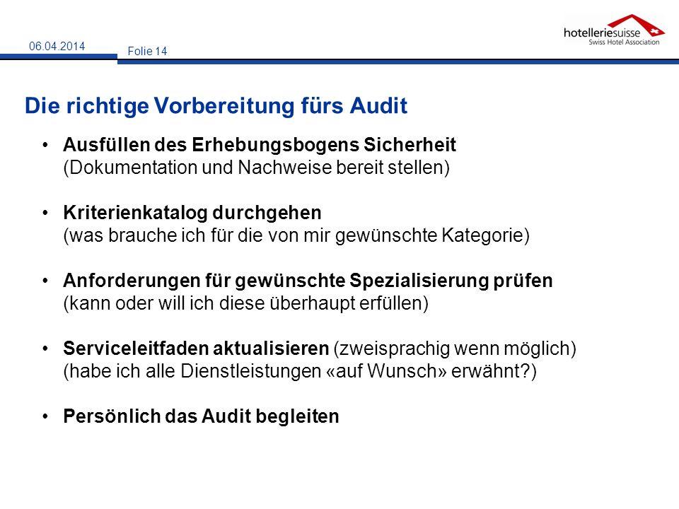 Die richtige Vorbereitung fürs Audit