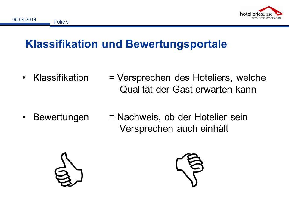 Klassifikation und Bewertungsportale