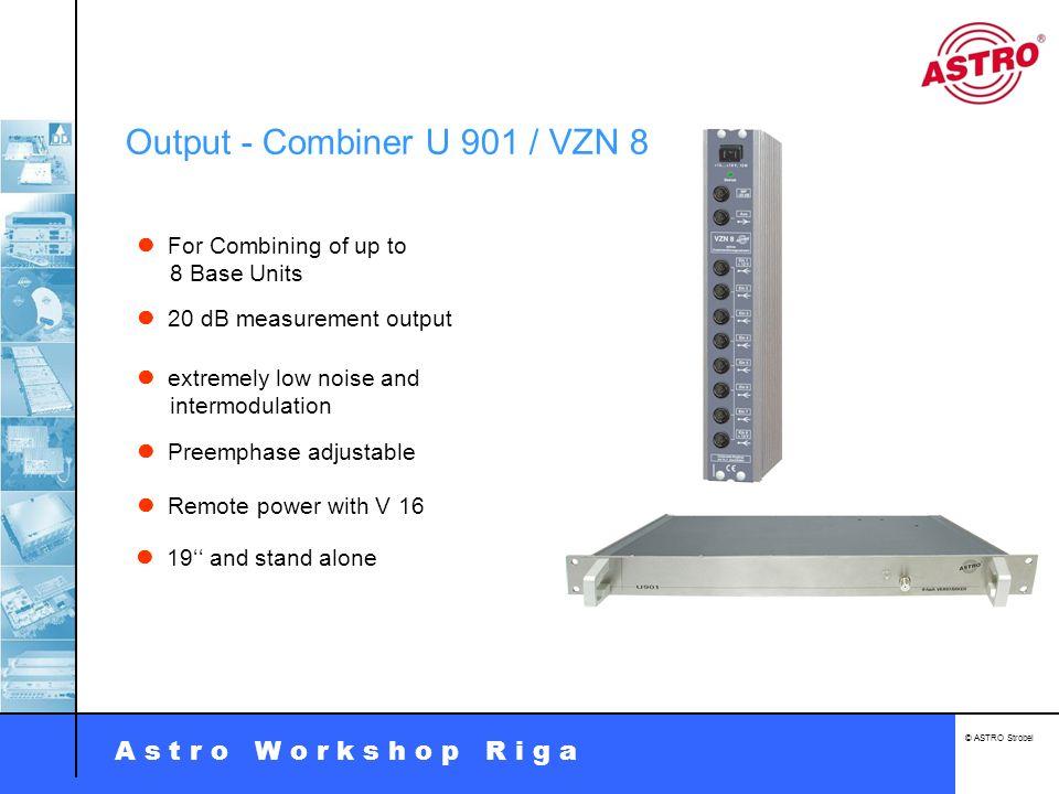 Output - Combiner U 901 / VZN 8