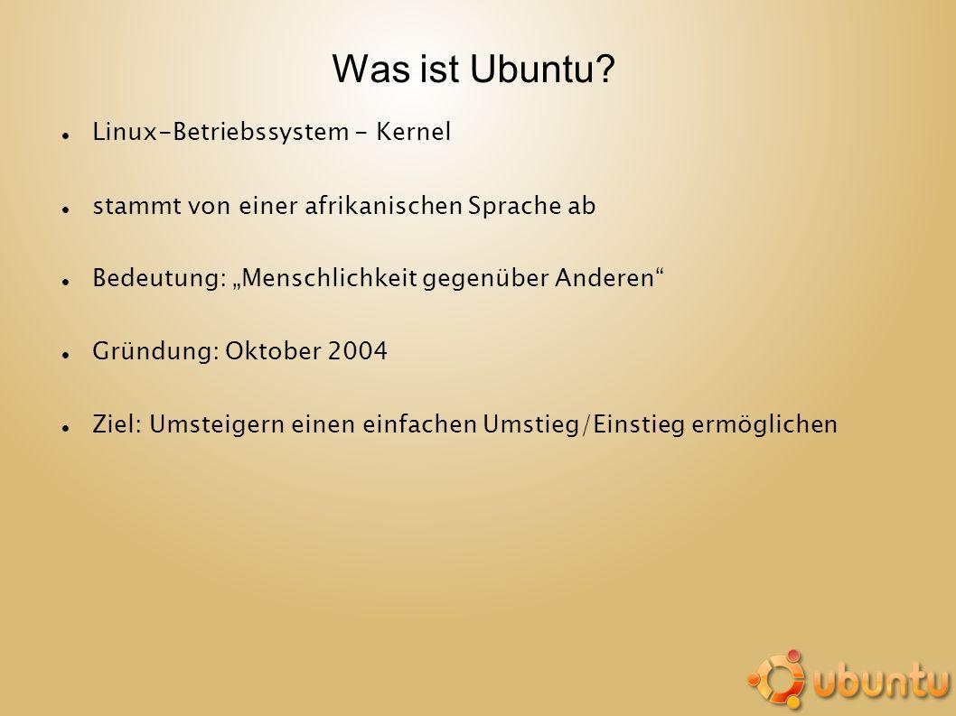 Was ist Ubuntu Linux-Betriebssystem - Kernel