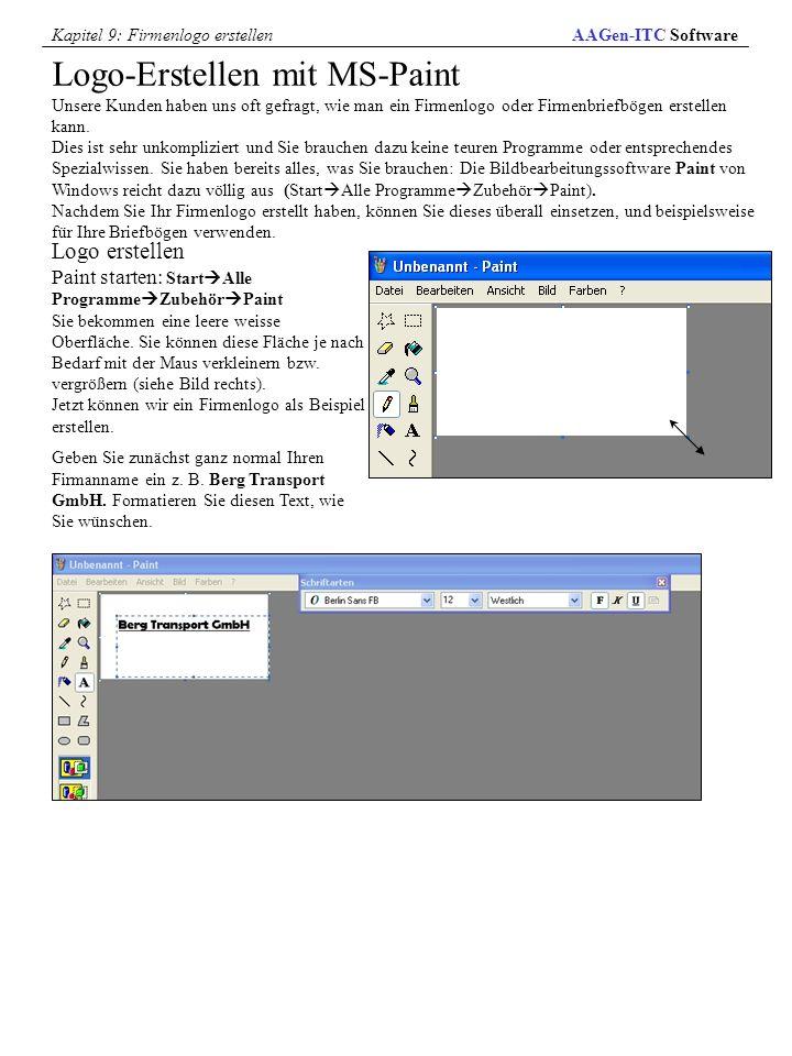 Logo-Erstellen mit MS-Paint