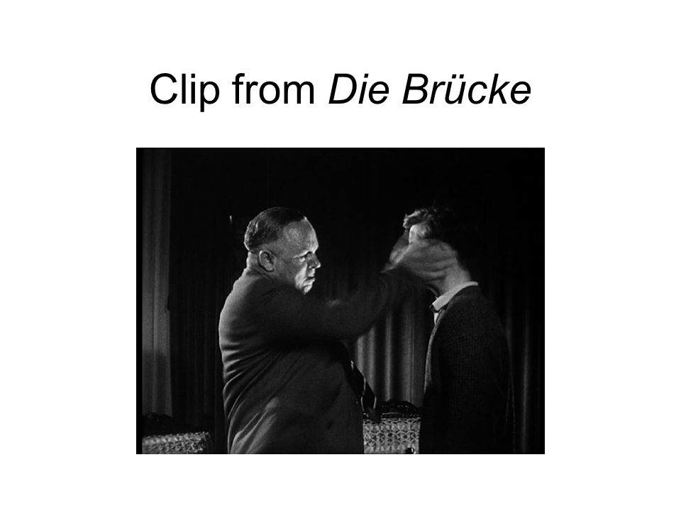 Clip from Die Brücke