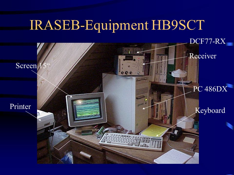IRASEB-Equipment HB9SCT