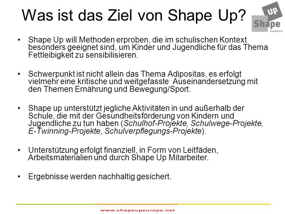 Was ist das Ziel von Shape Up