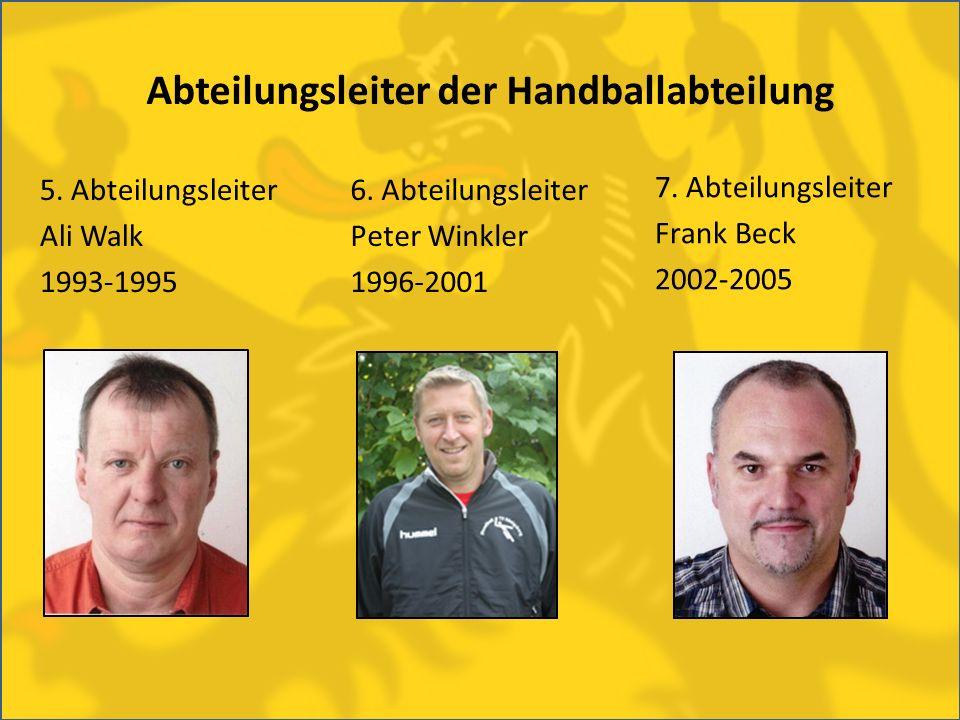 Abteilungsleiter der Handballabteilung