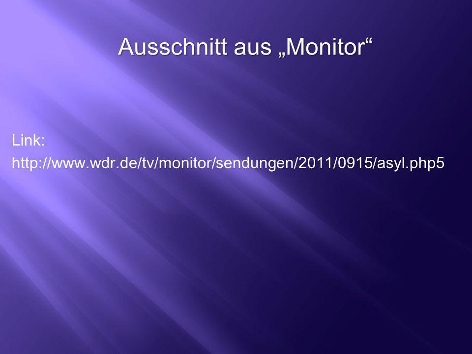 """Ausschnitt aus """"Monitor"""