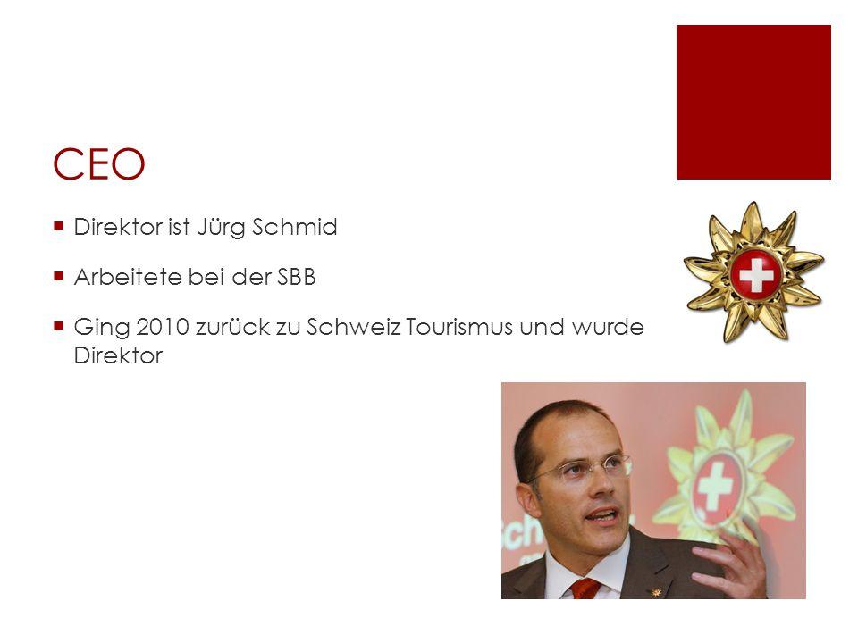 CEO Direktor ist Jürg Schmid Arbeitete bei der SBB