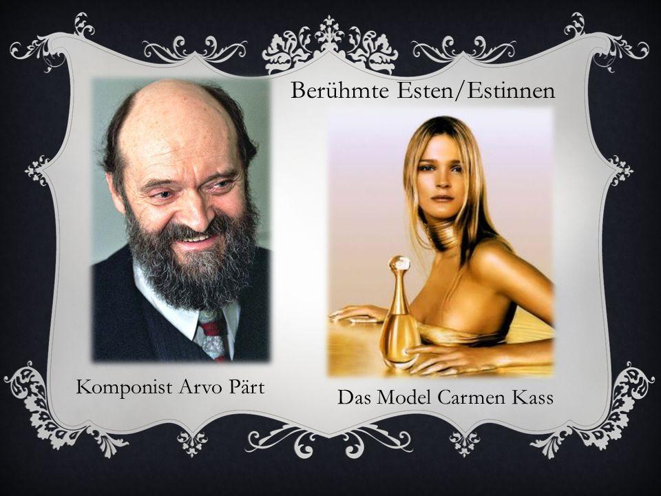 Berühmte Esten/Estinnen