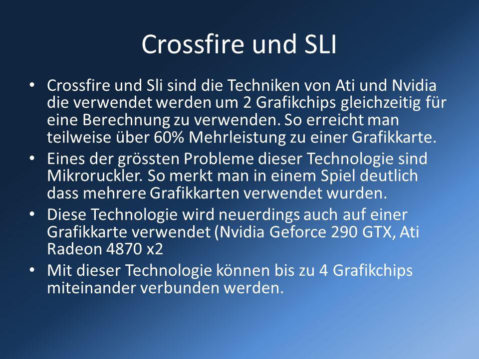 Crossfire und SLI