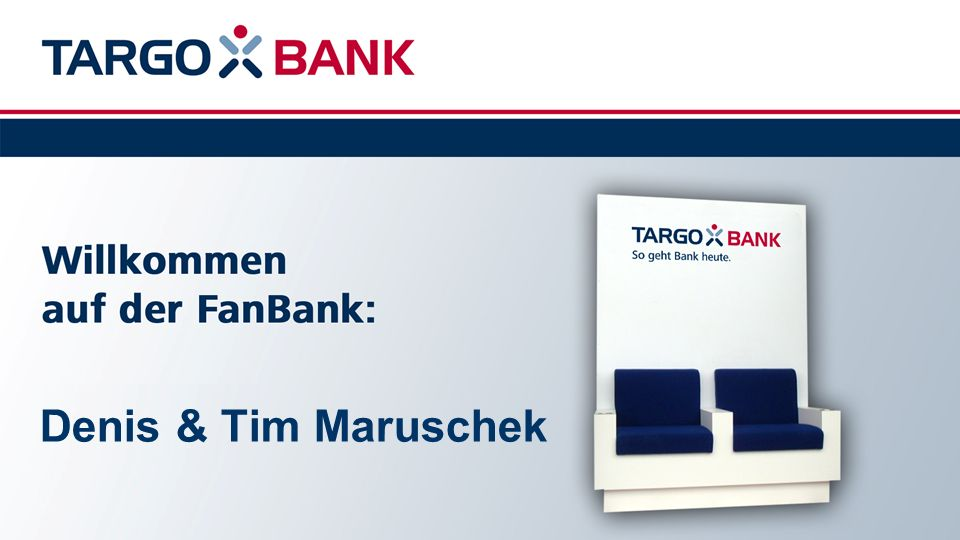 unter der Rubrik Werder Banking .