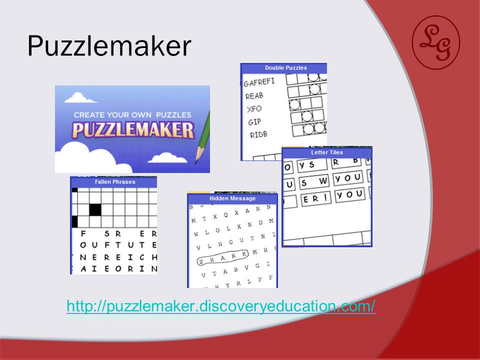 Puzzlemaker http://puzzlemaker.discoveryeducation.com/
