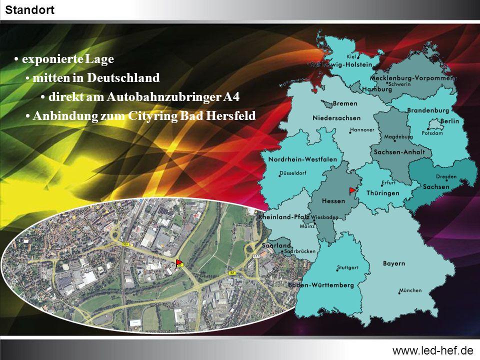 direkt am Autobahnzubringer A4 Anbindung zum Cityring Bad Hersfeld