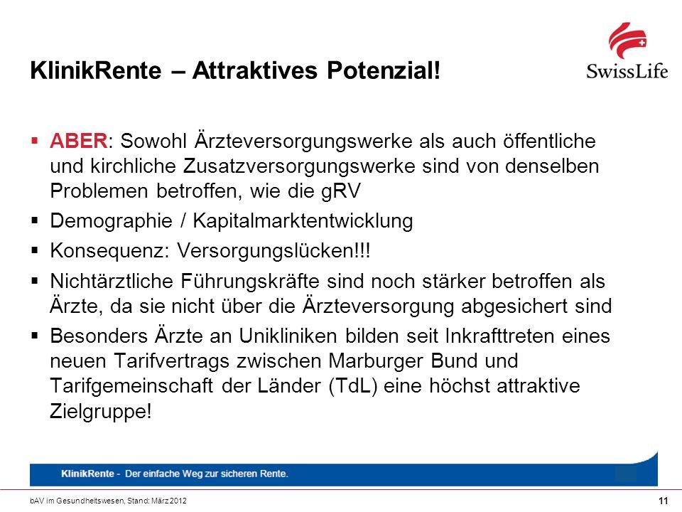 KlinikRente – Attraktives Potenzial!