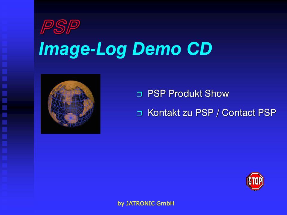 PSP Image-Log Demo CD PSP Produkt Show Kontakt zu PSP / Contact PSP