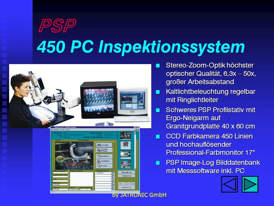 PSP 450 PC Inspektionssystem