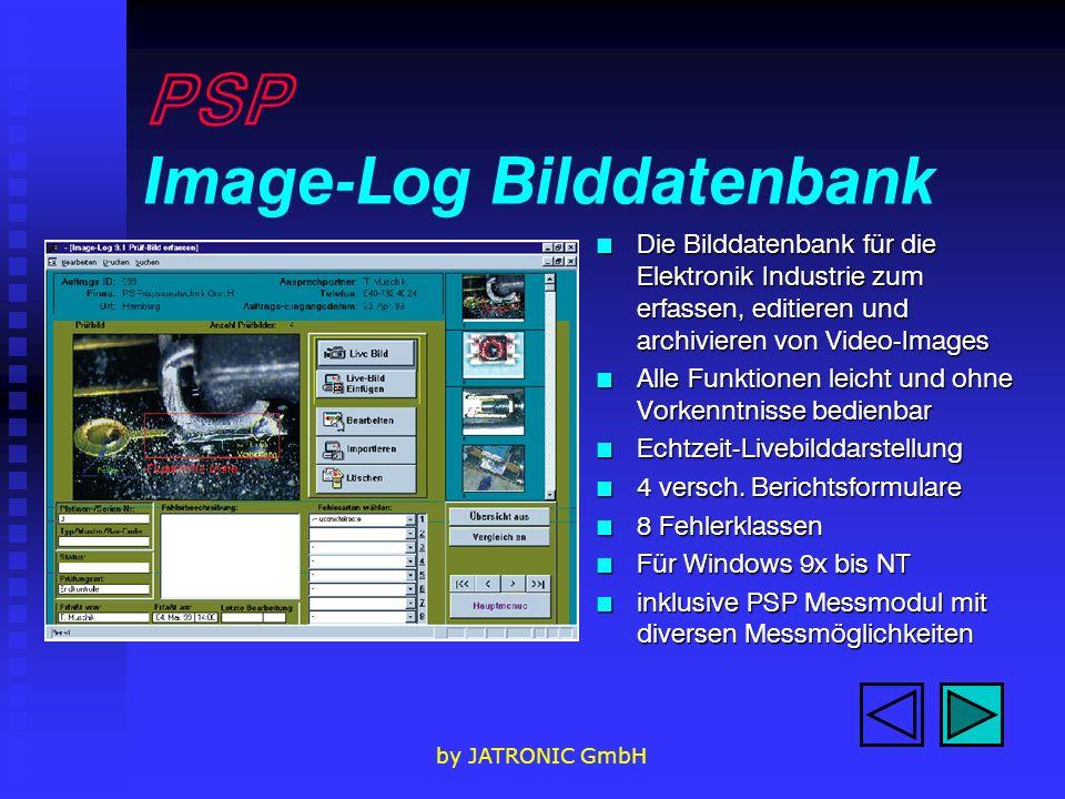 PSP Image-Log Bilddatenbank