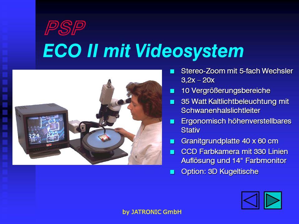 PSP ECO II mit Videosystem
