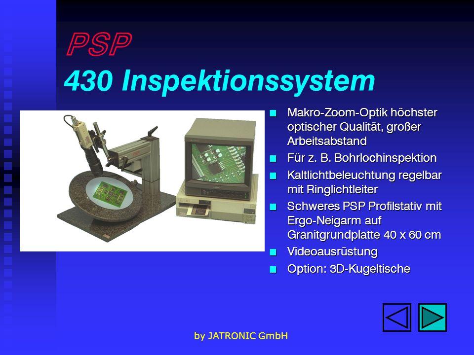 PSP 430 Inspektionssystem