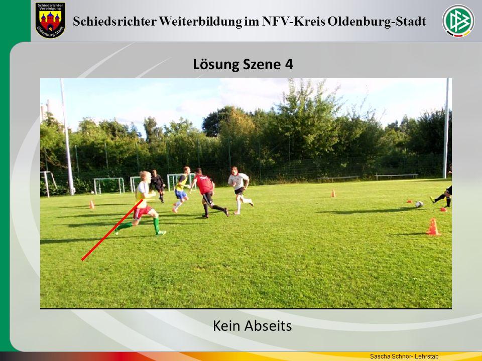 Schiedsrichter Weiterbildung im NFV-Kreis Oldenburg-Stadt