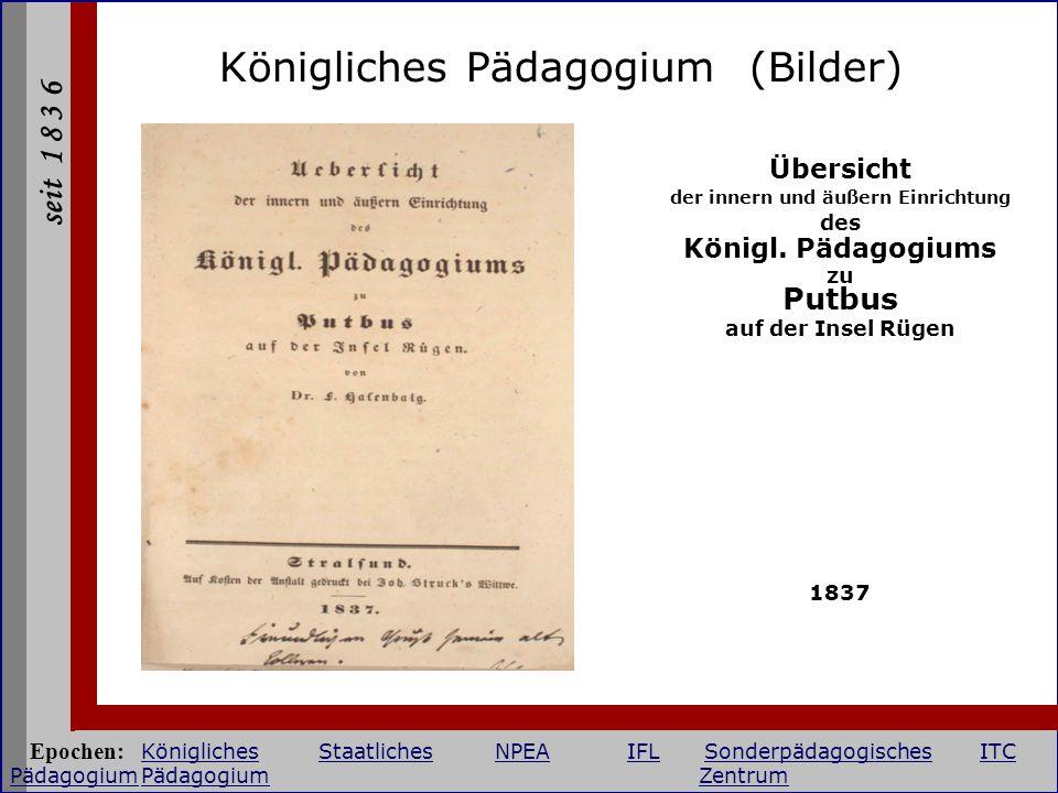 Königliches Pädagogium (Bilder)