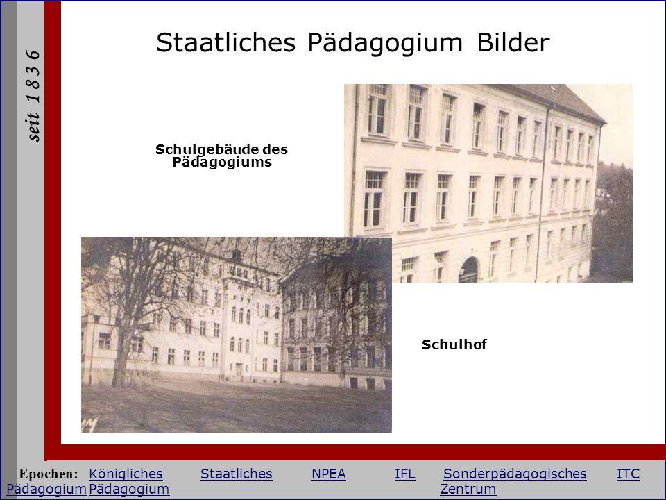 Schulgebäude des Pädagogiums