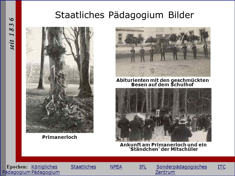 Staatliches Pädagogium Bilder