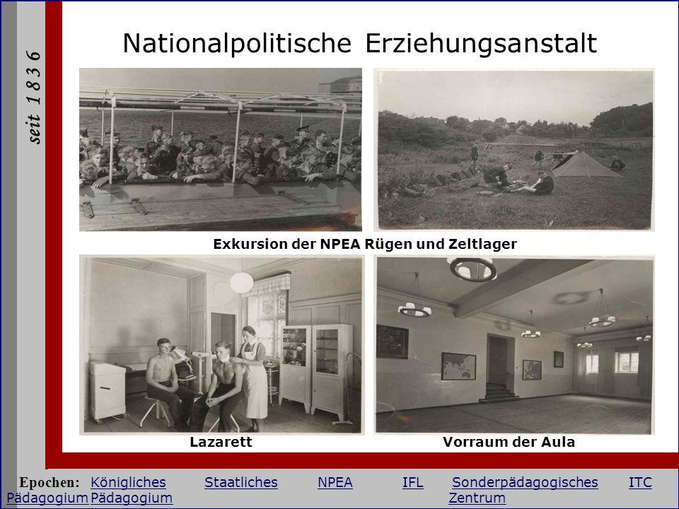 Exkursion der NPEA Rügen und Zeltlager