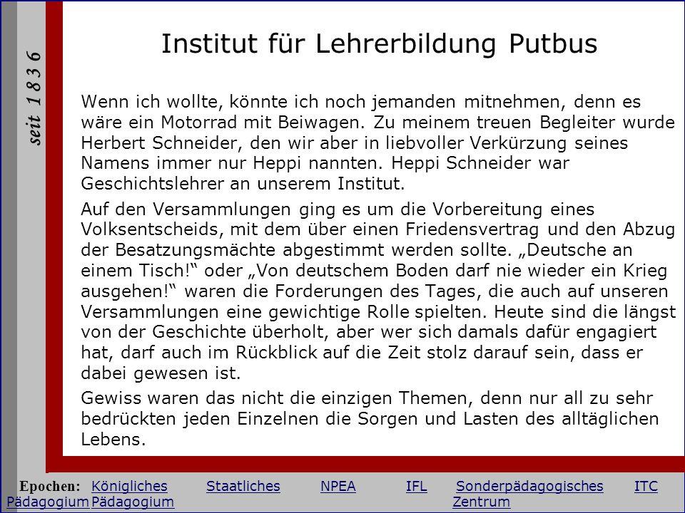 Institut für Lehrerbildung Putbus