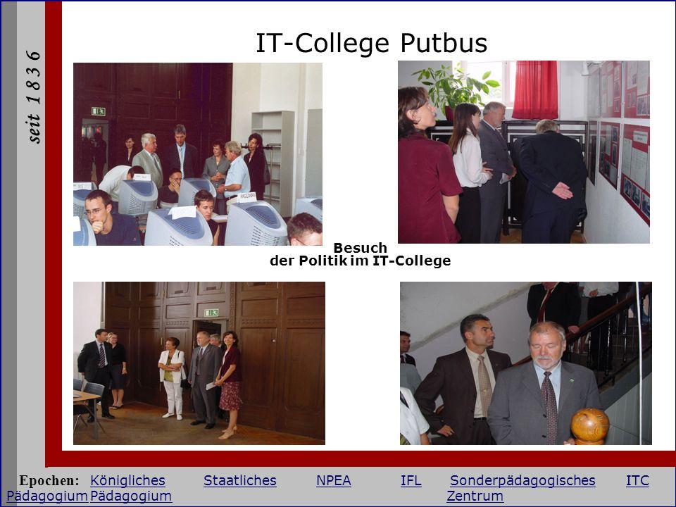 Besuch der Politik im IT-College