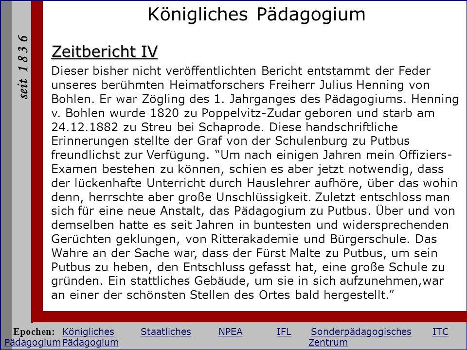 Königliches Pädagogium