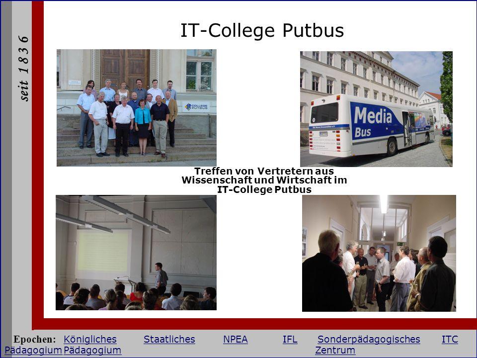 IT-College Putbus Treffen von Vertretern aus Wissenschaft und Wirtschaft im IT-College Putbus.