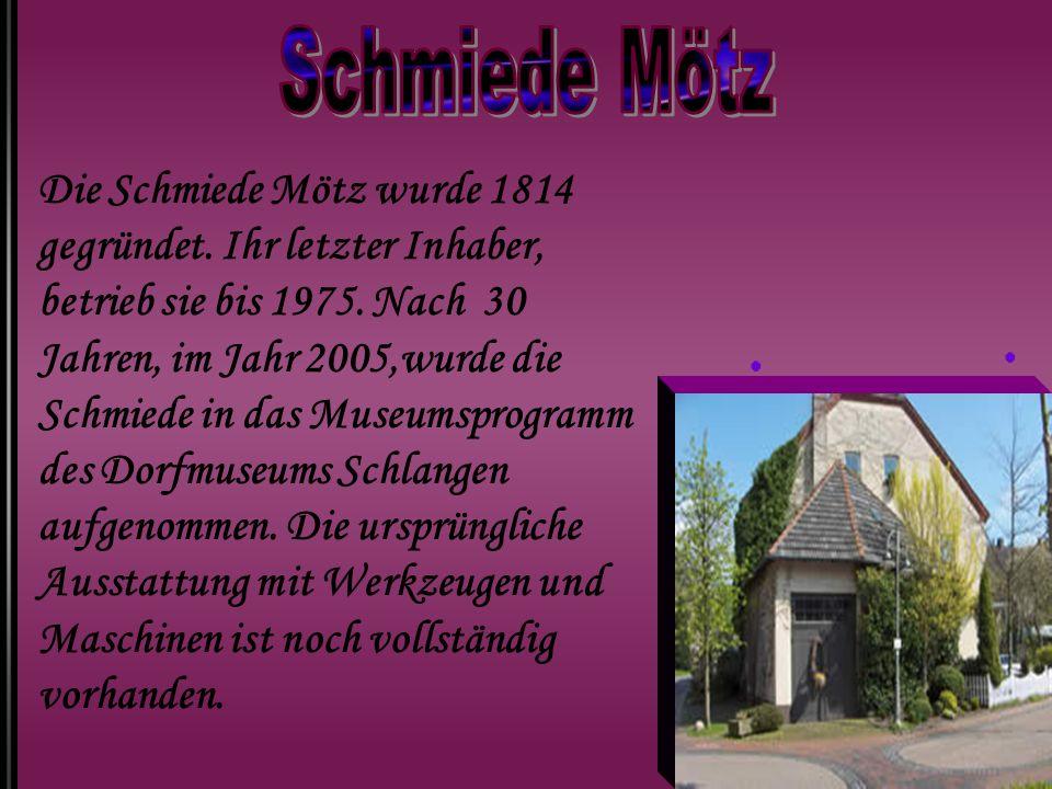 Schmiede Mötz