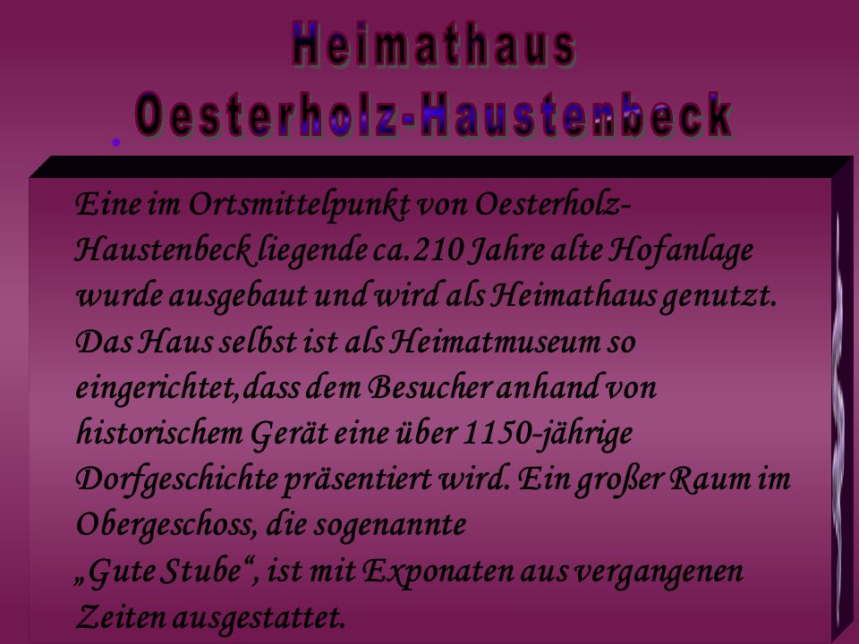 Oesterholz-Haustenbeck